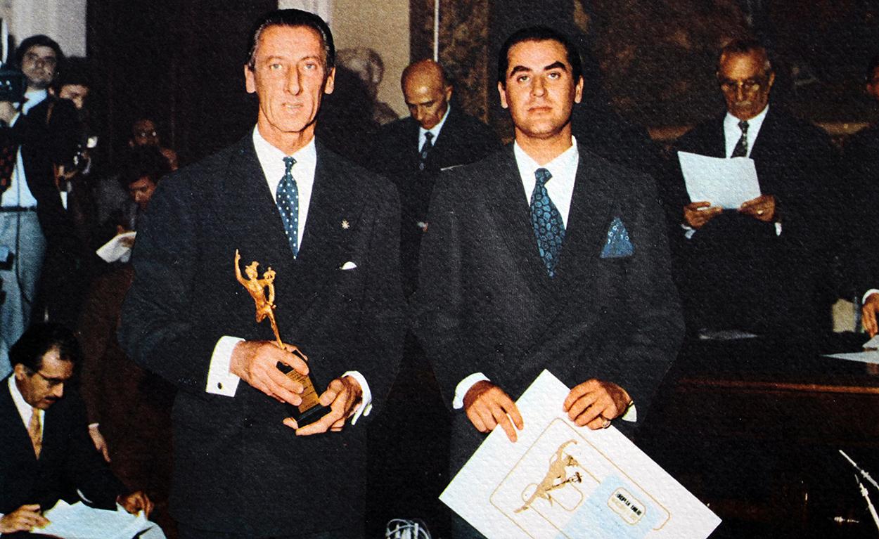 Moments in History: Corporate Award Ad honorem Don Jose Ignacio Domecq